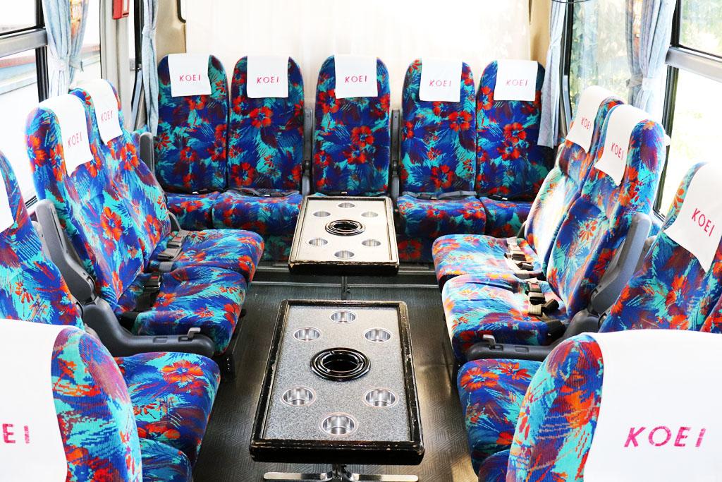 中型バスのサロン
