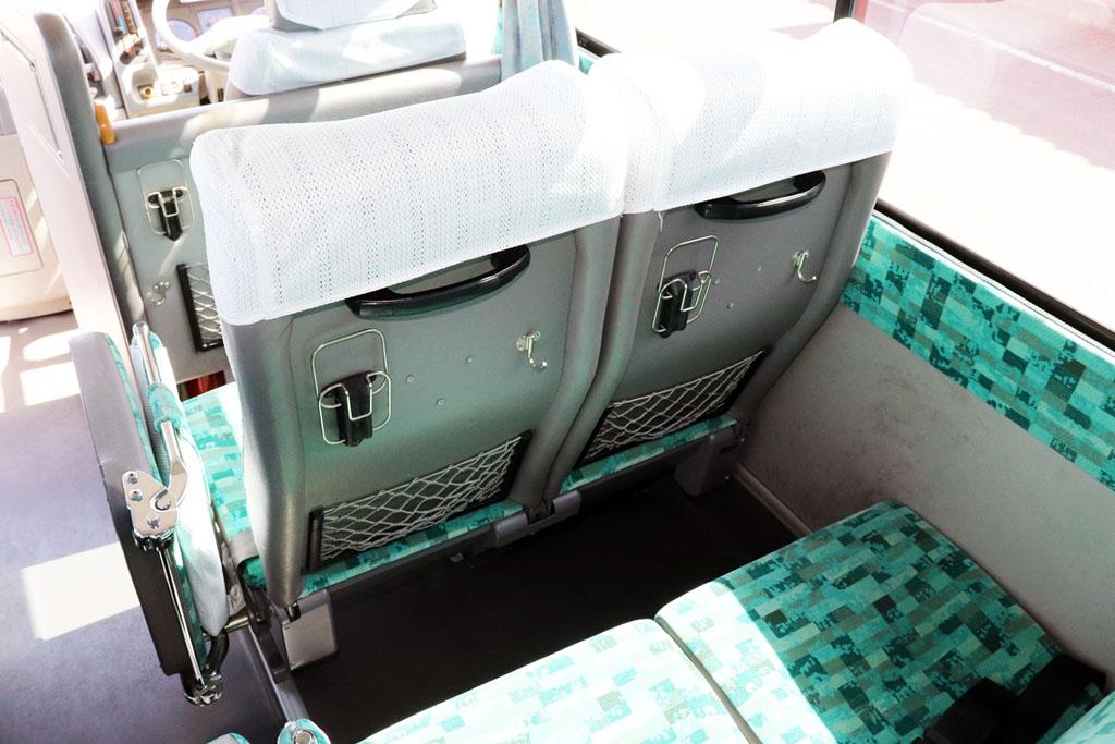小型バスのシート